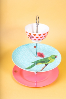 "Rice Etagere ""Vintage Bird"""