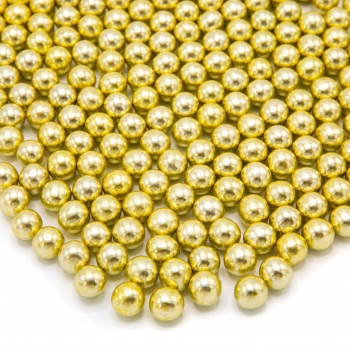 "Happy Sprinkles ""Gold Metallic Choco M"" 90g"
