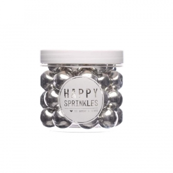 "Happy Sprinkles ""Choco Crunch Silver XXL"" 130g"
