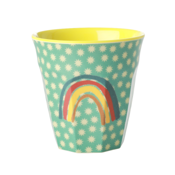 "Melamin Becher ""Rainbow & Stars"" medium"