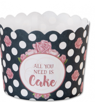 "Muffin-Cups extra fest ""All You need is Cake"" Maxi"