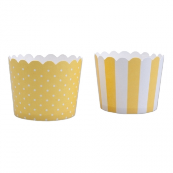 Muffin-Cups extra fest mini Gelb