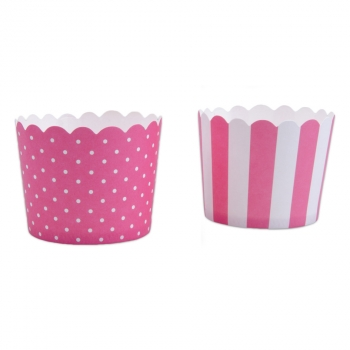 Muffin-Cups extra fest mini Rosa