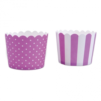 Muffin-Cups extra fest mini Violett
