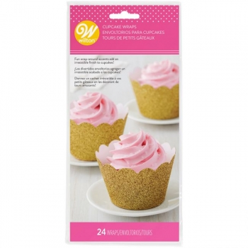 Muffin Papierform Blumen