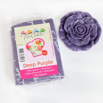 Marzipan Deep Purple 250 gr - 03/19